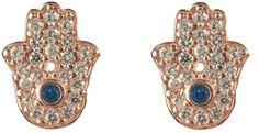 Latelita London - Hamsa Earring Rose Gold