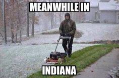 Snow mow indiana