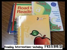 Little Minds at Work: Reading Interventions & FREEBIES!