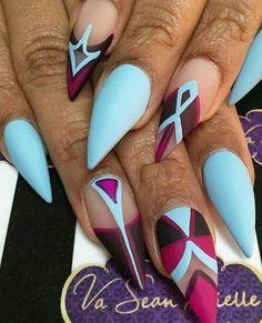 Картинка с тегом «blue and nails»