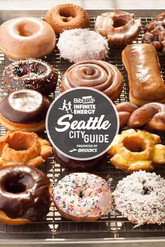 Top Pot Doughnuts and Coffee Old Fashioned Donut, Seattle City, Coffee Roasting, Doughnuts, Coffee Shop, Bakery, Brunch, Treats, Running Tips