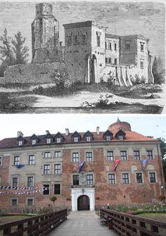 Uniejów, łódzkie Castles, Polish, Mansions, House Styles, Poland, Vitreous Enamel, Chateaus, Villas, Manicure
