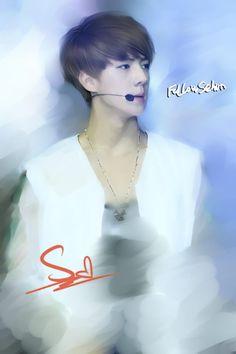 Sehun (fan art)