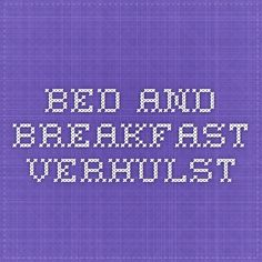 Bed and Breakfast - Verhulst - Bruges bed and breakfast