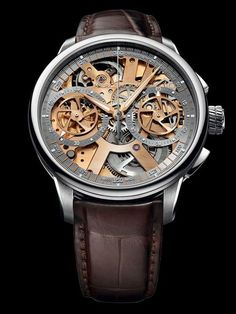 The new Masterpiece Le Chronographe Squelette Collection