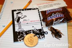 Cap Creations: Diary of a Wimpy Kid Party  - adapting the diaries for use in the classroom would be awesome!