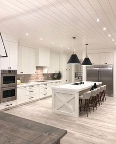 Kitchen Inspiration   A House we built My Living - Interior Design is the definitive resource for… - My Living Interior Design