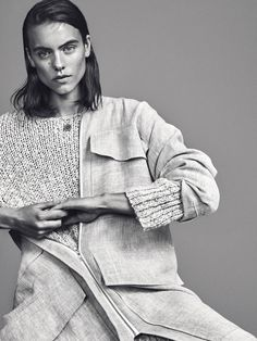 visual optimism; fashion editorials, shows, campaigns & more!: corinna ingenleuf by philip messmann for costume denmark april 2015
