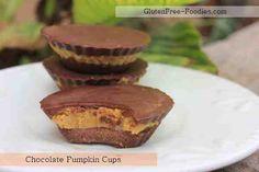 Chocolate Pumpkin Cups ***Low Carb Treat