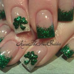 wearin the green...