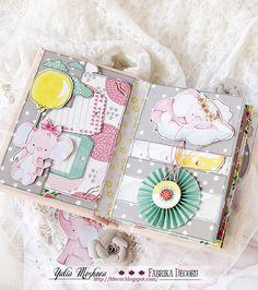 "Фабрика декору: Новинки!!! Коллекция ""Little Elephant"", ТМ Фабрика декору, а также - ВЫСЕЧКИ ко всем коллекциям! Mini Scrapbook Albums, Baby Scrapbook, Scrapbook Designs, Scrapbooking Layouts, Pregnancy Scrapbook, Baby Sketch, Paper Art, Paper Crafts, Mini Albums Scrap"