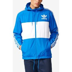 adidas Originals Men s Clfn Windbreaker Jacket (95 AUD) ❤ liked on Polyvore  featuring men s 9c4ebfa006a