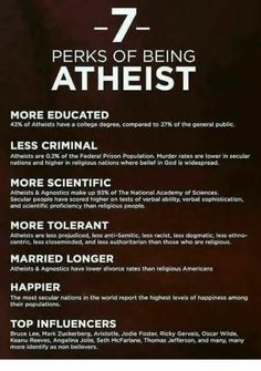For When They Claim Atheists Are Destroying the World or Whatever | #Atheist
