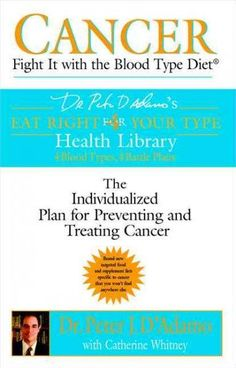 Drawing on the principles of the Blood Type Diet, the naturopathic physician and author of Eat Right 4 (for) Your Type presents a revolutionary, personalized approach to preventing and treating cancer
