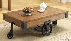 Image result for wheel coffee table