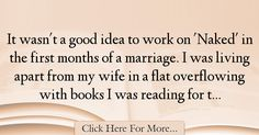 David Thewlis Quotes About Marriage - 44747