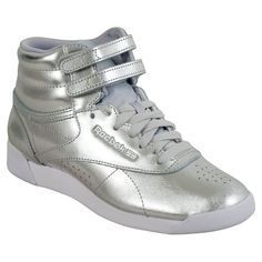 0c4478948752dd Reebok Freestyle Hi Metallic Women s High-Top Sneaker