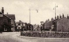 """Picture and words from Closed Pubs site:  """"The Albert Inn was situated at 103 North Station Road. Publican in 1895 was William Smith. It is the second building on left in"""" the """"photograph.  This pub was present by 1848 and was demolished in 1932. It was then rebuilt a hundred yards or so to the north, on a much bigger scale, on the new Cowdray Avenue ring road. It remains open at the new site as the Albert, as part of the Beefeater chain. Historically it had been a Truman's pub."""""""