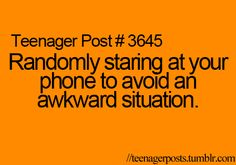 haha i do this all the time!
