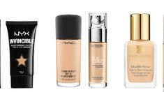 Trying to find the best Foundation in the UK is easy when you have lots of money to spend, but what if you're on a tight budget? Are there any Drug Store B. Makeup Set, Drugstore Makeup, Makeup Cosmetics, Beauty Makeup, Elf Makeup, Skin Makeup, Foundation Dupes, Best Foundation, Nyx