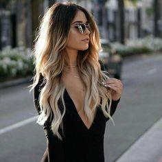 balayage-ombré-blond-look-sexy