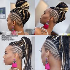 Once again we all had an amazing year of haircuts💈hairstyles. These are some … Once again we all had an amazing year of haircuts💈hairstyles. These are some of the popular haircuts that I have done this year of To… Box Braids Hairstyles, Black Braided Hairstyles Updos, Shaved Side Hairstyles, Hairstyles Haircuts, Braided Mohawk Black Hair, Natural Hair Short Cuts, Short Hair Cuts, Short Hair Styles, Natural Hair Styles