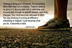 Great running quote.