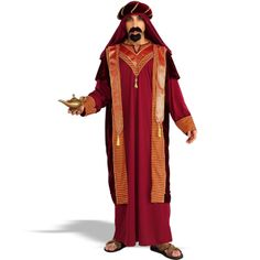 Dress up like one of the three wise men -- just don't be a wise guy about it. Don't forget the incense!