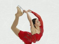 Feb 19, 2014; Sochi, RUSSIA;  Gabrielle Daleman of Canada performs in the ladies short program during the Sochi 2014 Olympic Winter Games at...
