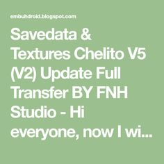 Savedata & Textures Chelito V5 (V2) Update Full Transfer BY FNH Studio  - Hi everyone, now I will share the PPSSPP PES game. I will s... Texture, Game, Studio, Surface Finish, Gaming, Studios, Toy, Games, Pattern