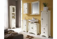 Modern bathroom furniture - Best Home Decorating Ideas - How To Design A Room - homehomedecor Bathroom Mirror Cabinet, Mirror Cabinets, Bathroom Faucets, Bathroom Storage, Bathroom Furniture, Home Furniture, Black Bathroom Sets, Modern Bathroom, Teak