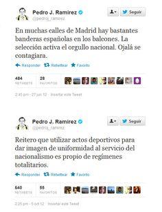 Las contradicciones de Pedro J. Ramírez.