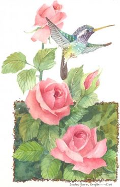 Tranquil Time II watercolor $65.00