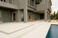 quartz flooring for the patio Hallway Carpet Runners, Cheap Carpet Runners, House Color Schemes, House Colors, Colour Schemes, Cushioned Vinyl Flooring, Quartz Flooring, Alternative Flooring, Nest Building