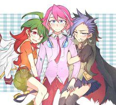 Yuya, Yuzu and Yuto