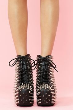 I have a serious weakness for Jeffrey Campbell shoes - Boot Heels - Ideas of Boot Heels - I have a serious weakness for Jeffrey Campbell shoes Black Platform Boots, Black Leather Boots, High Heel Boots, Heeled Boots, Shoe Boots, High Heels, Shoes Heels, Fur Heels, Boot Heels