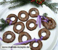 Braune Adventsringe   Mamas Rezepte - mit Bild und Kalorienangaben