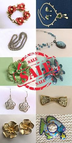 Christmas in July Sale! Save now! #vintage #jewelry #teamlove #onsale