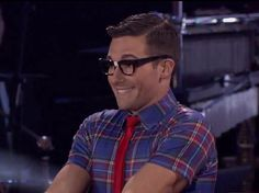 James Maslow joue le rôle d'un geek sur Dancing with the stars James Maslow, Big Time Rush, Cute Nerd, I Love Him, My Love, Win My Heart, Monday Night, Dancing With The Stars, Schmidt