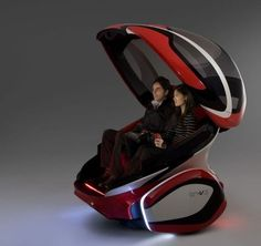 Futuristic Vehicle, EN-V Concept Car: GM's Vision for Future Urban Transportation
