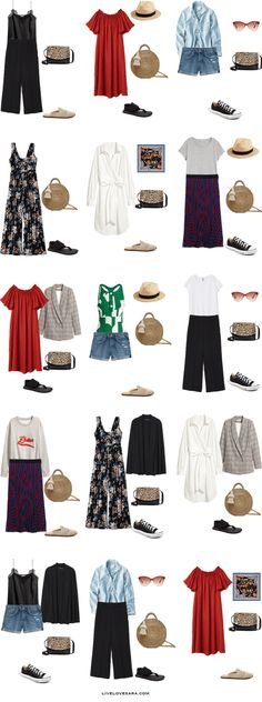 What to Pack for Mexico a Budget Packing Light List 15 Outfit Options | What to pack for Mexico | Packing Light | Packing List | Travel Light | Travel Wardrobe | Travel Capsule | Capsule |