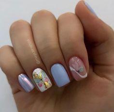 Spring Nails, Summer Nails, Make Color, Manicure And Pedicure, Cute Nails, Nail Colors, Hair Makeup, Nail Designs, Hair Beauty