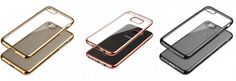 Coques CRYSTAL DELUXE pour IPHONE et SAMSUNG