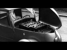 """On le sait aujourd'hui, pendant l'occupation, la marque Peugeot, depuis la famille jusqu'aux ouvriers en bas de l'échelle, fait tout pour """"embêter"""" les Allemands, en ralentissant par exemple les cadences au maximums, etc. Ils vont même jusqu'à lancer en 1941 à la surprise générale, une nouvelle voit Peugeot France, Small Cars, Electric Cars, Bmw, Golf Carts, Vehicles, Occupation, Vans, Concept"""