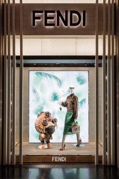 Fendi Spring/Summer 2018 Windows - Hong Kong