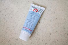 If you haven't tried First Aid Beauty's face wash yet, here's why you should.