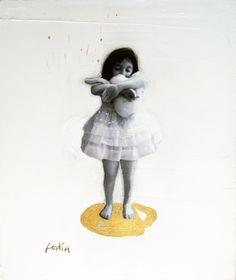 Technique mixte sur toile Dominique fortin