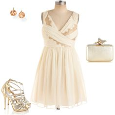 Grecian Gold party dress