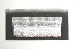 Tetsuo Fujimoto  Machine embroidered textiles whose density of stitch creates a three dimensional surface