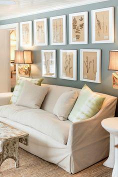 Sunroom - Benjamin Moore Intrique gray paint color